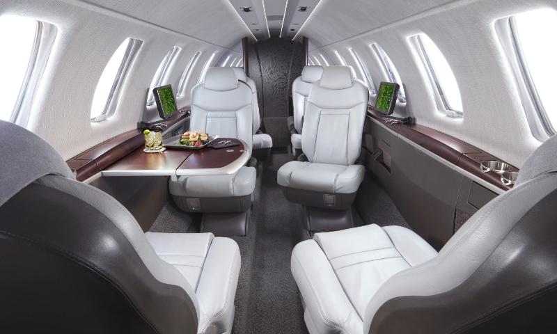 Höchster Komfort im Business Jet