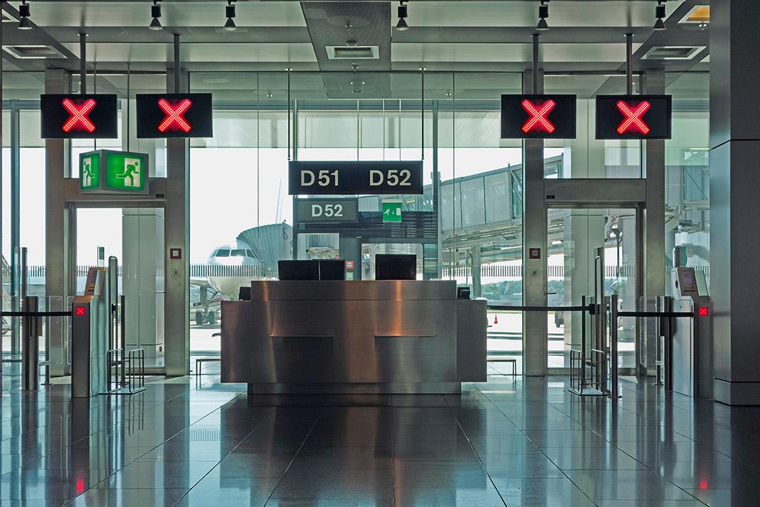 Flughafen geschlossen