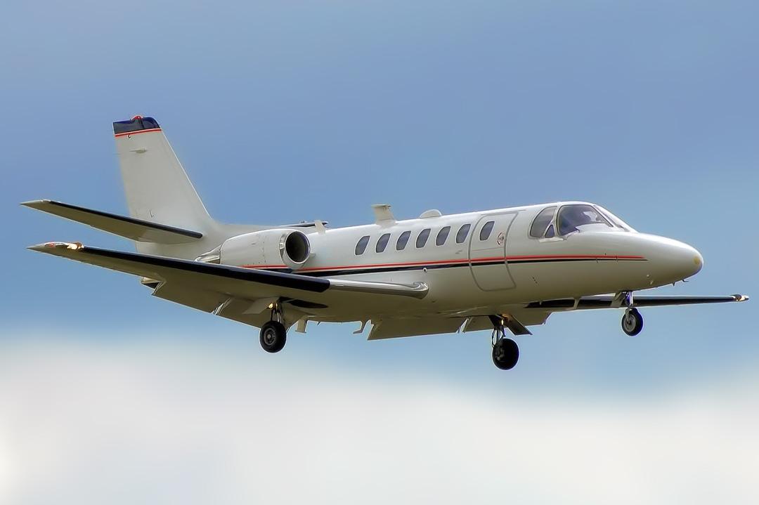 Air ambulance jet