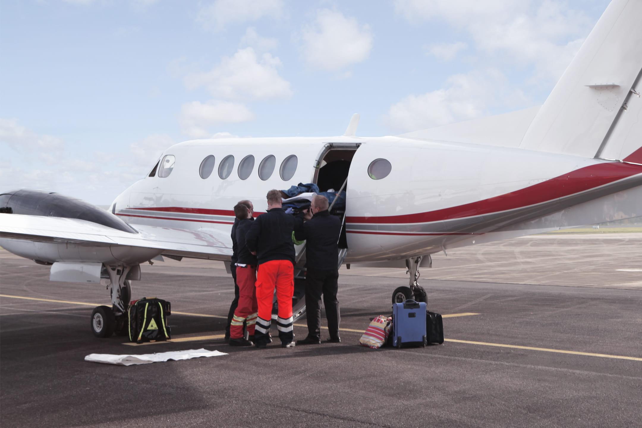 Luftrettung zur Patientenverlegung