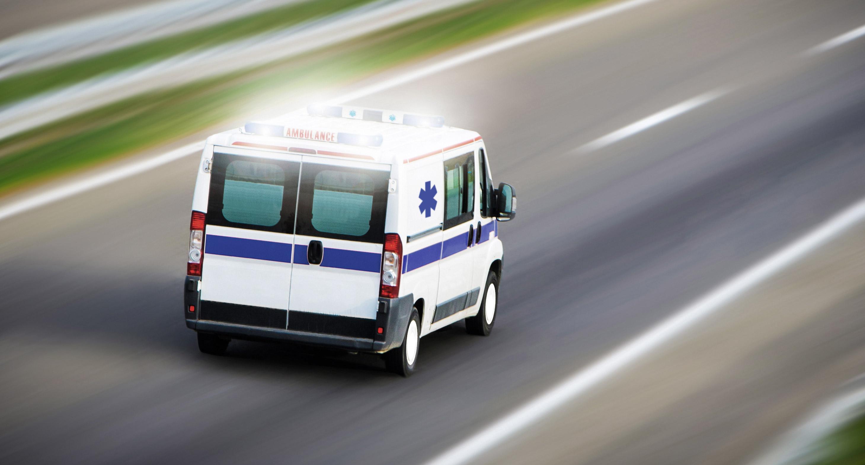 Ambulance longue distance