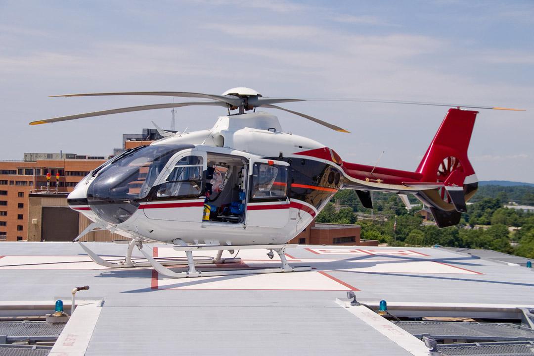 Hélicoptère sanitaire : transport rapide