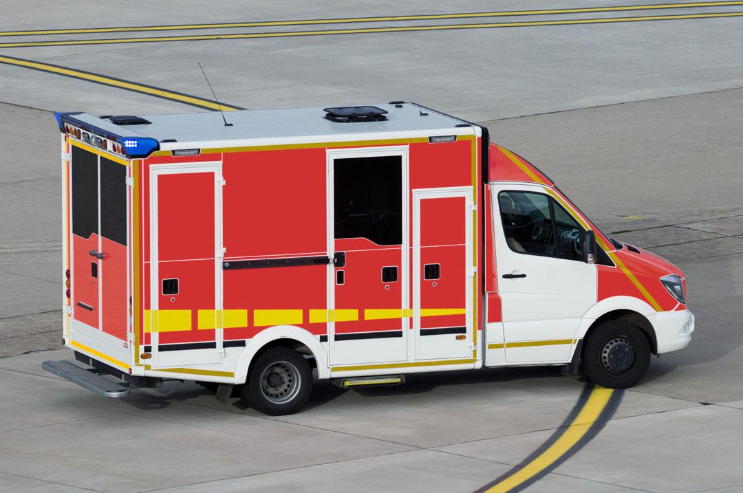 Trasporto pazienti in ambulanza