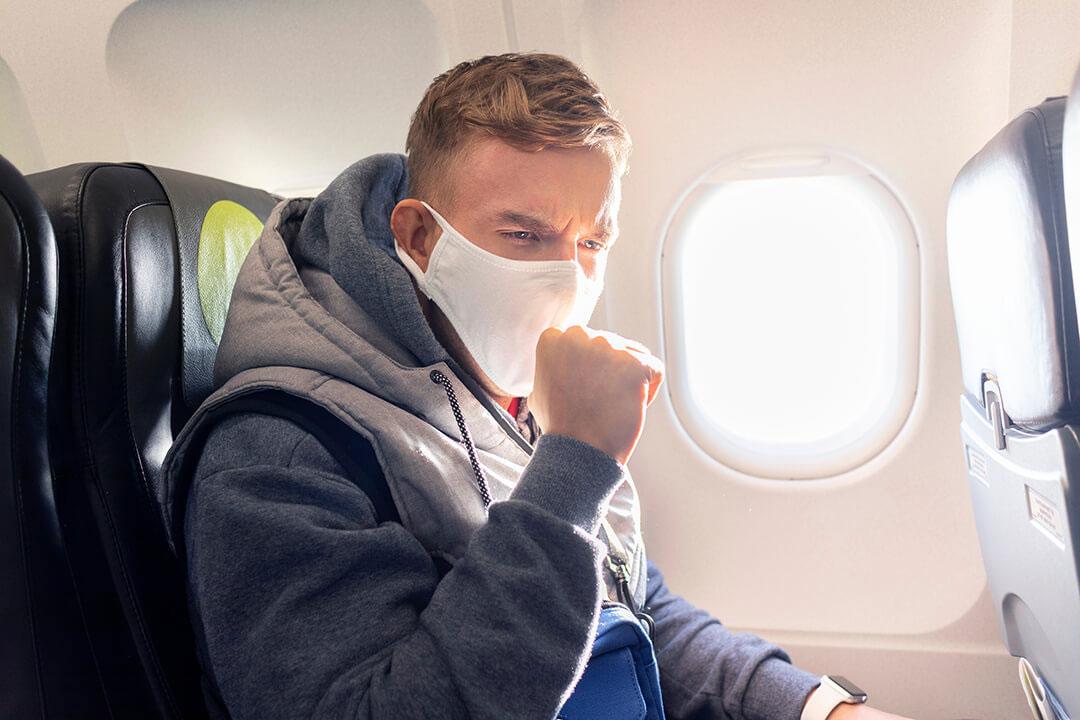 Risques de contagion en avion