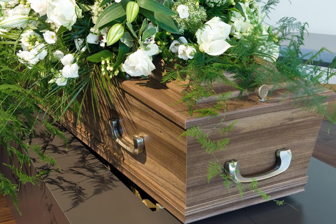 Cercueil d'un défunt