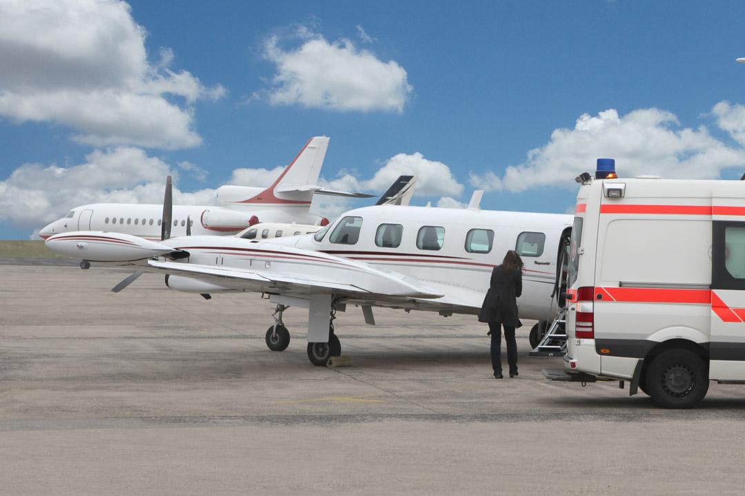 Kosten eines Ambulanzflugs - Flugzeugtyp