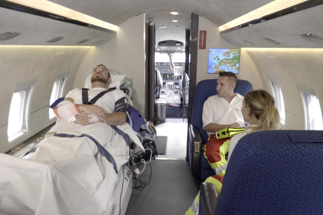 Kosten eines Ambulanzflugs - Gesundheitszustand
