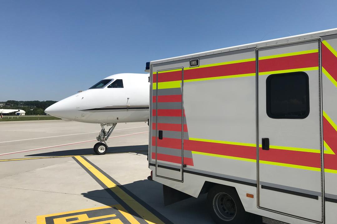 Krankenwagen: Sinnvolle Alternative zum Ambulanzflugzeug?