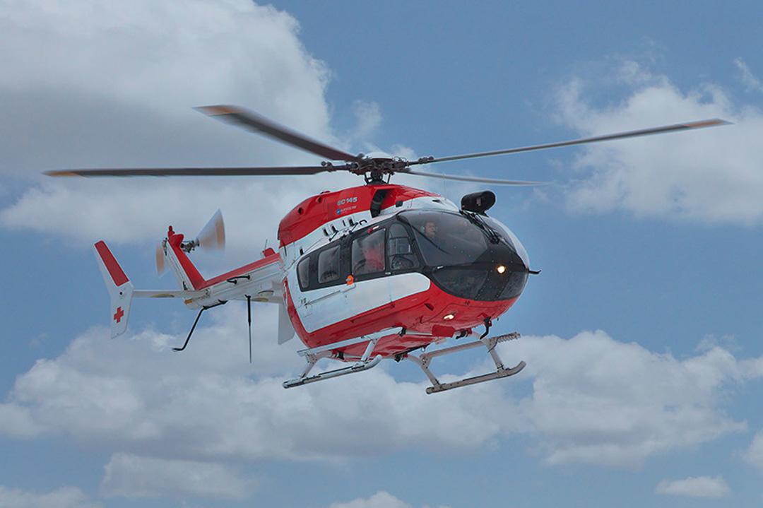Rücktransport im Ambulanzhubschrauber nach Deutschland