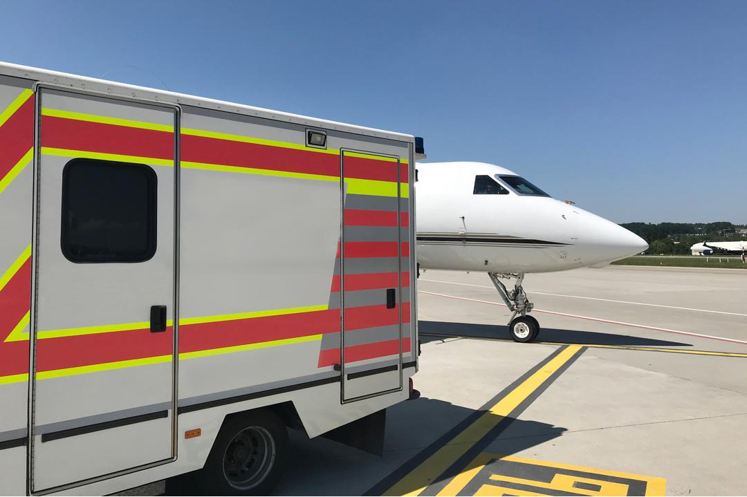 VIP Krankentransport nach Houston (USA)