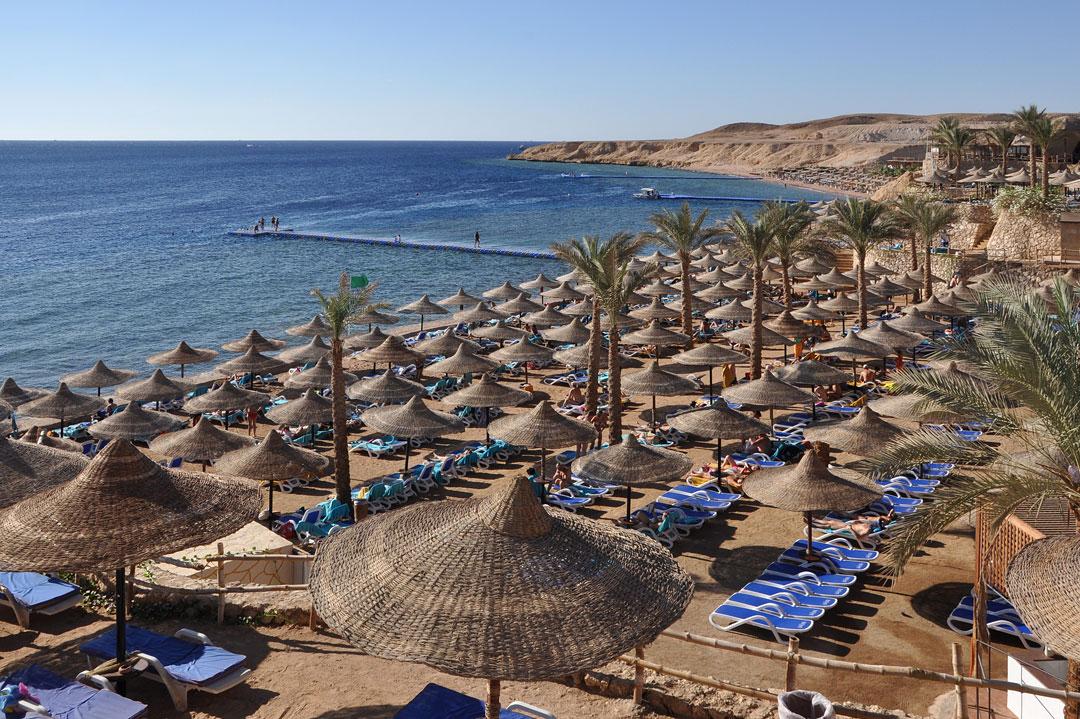 Strand in Scharm El-Scheich