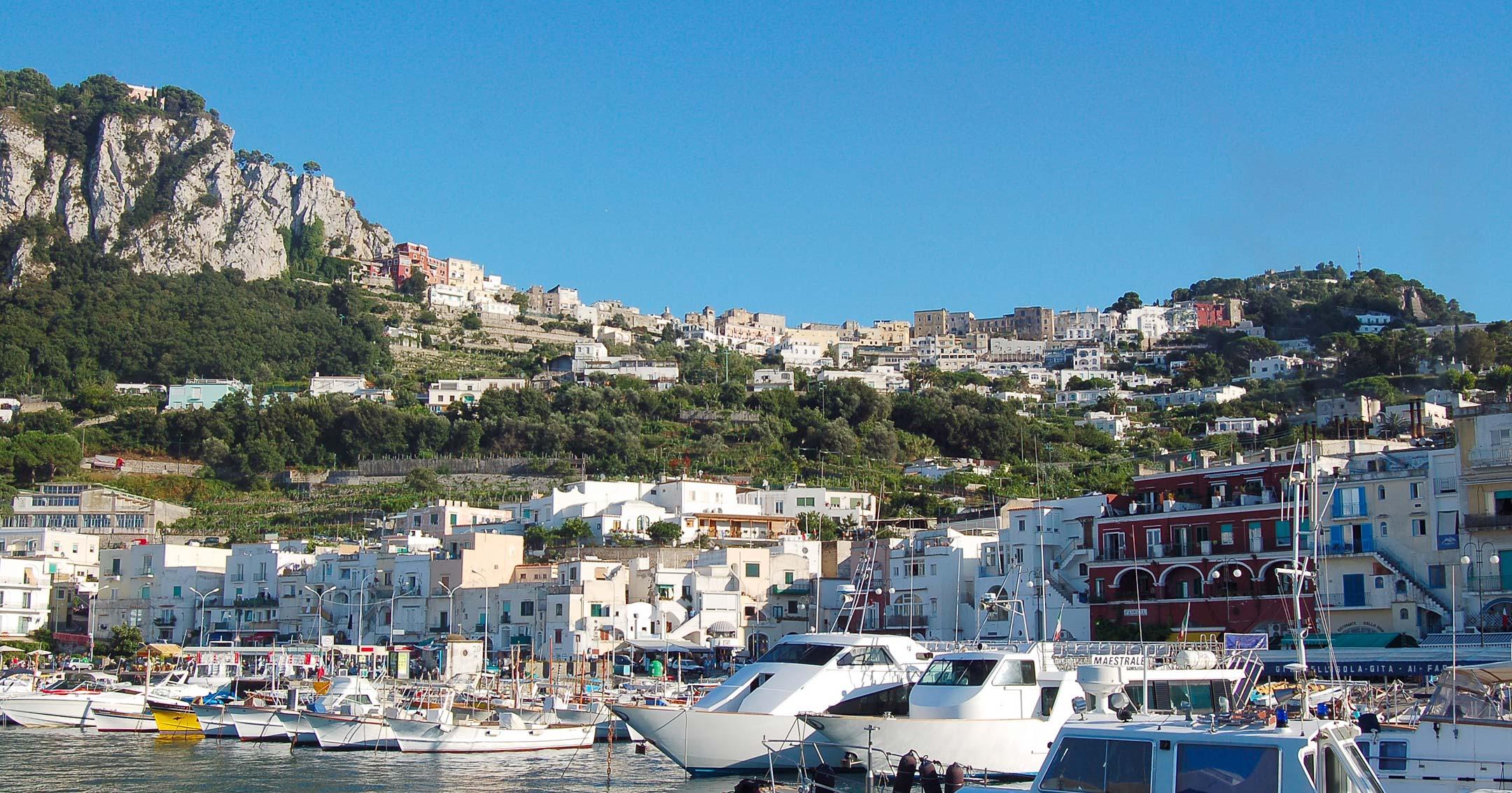 Medical repatriation Capri