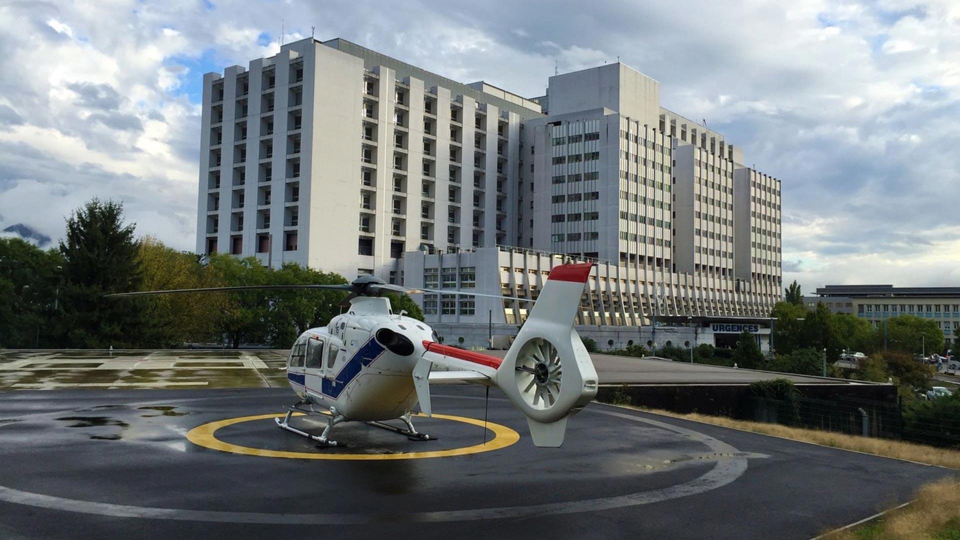 Krankenhaus in Frankreich