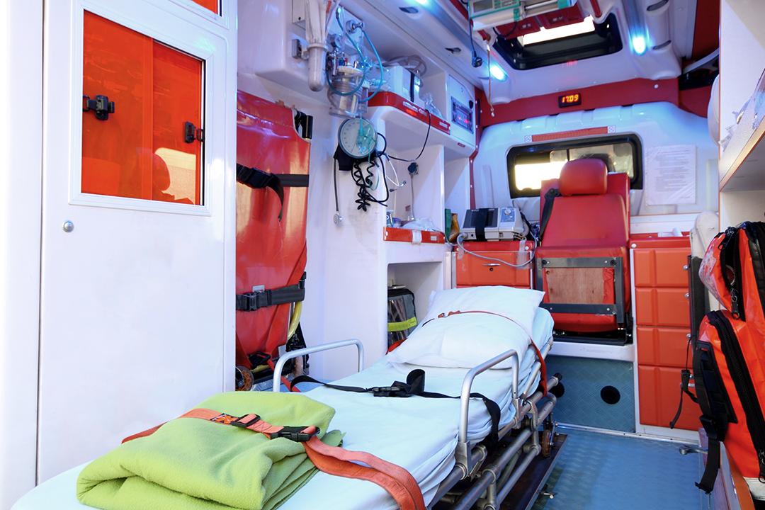 Rapatriement en ambulance