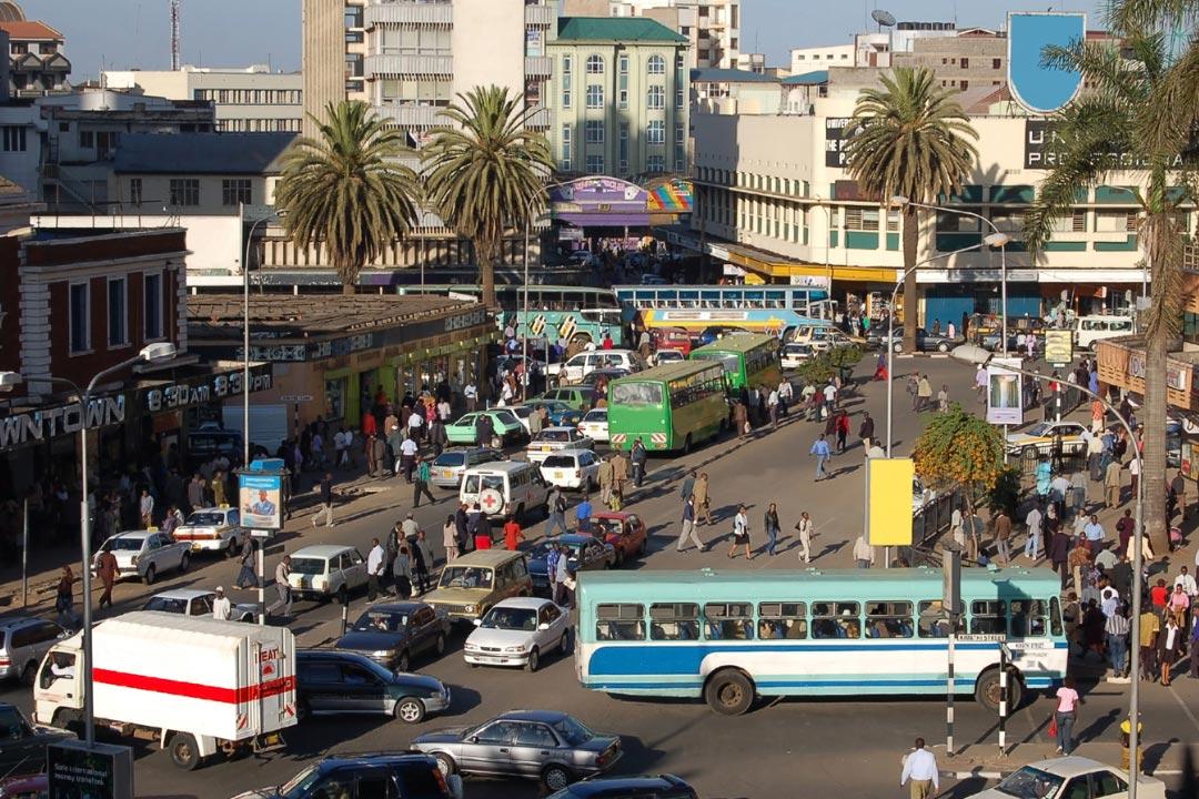 Beckenbruch in Nairobi