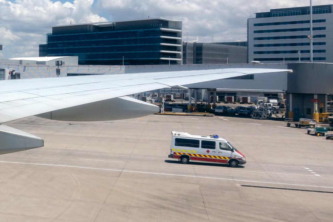 Sicherer Krankenrücktransport aus dem Ausland in der Luft