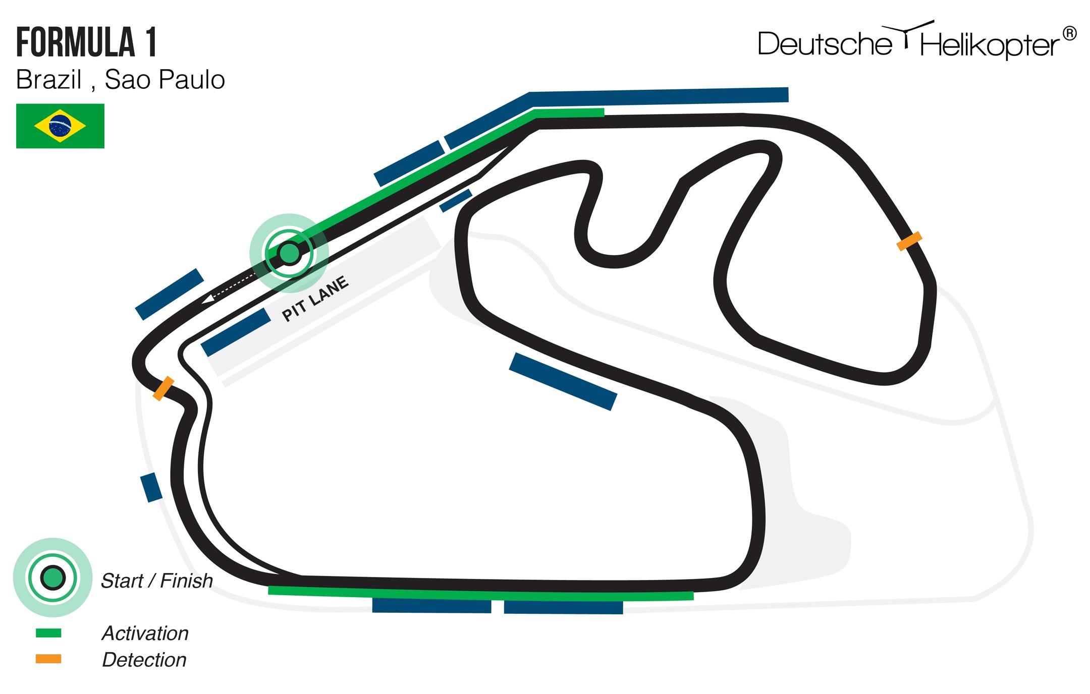 Großer Preis von Brasilien - Autodromo Jose Carlos Pace