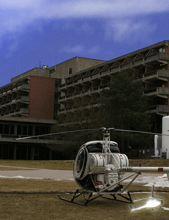 Günstiger Helikopter Shuttle
