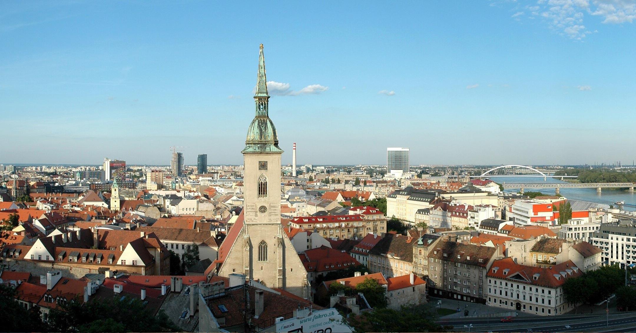 Lastenflug Hubschrauber Bratislava