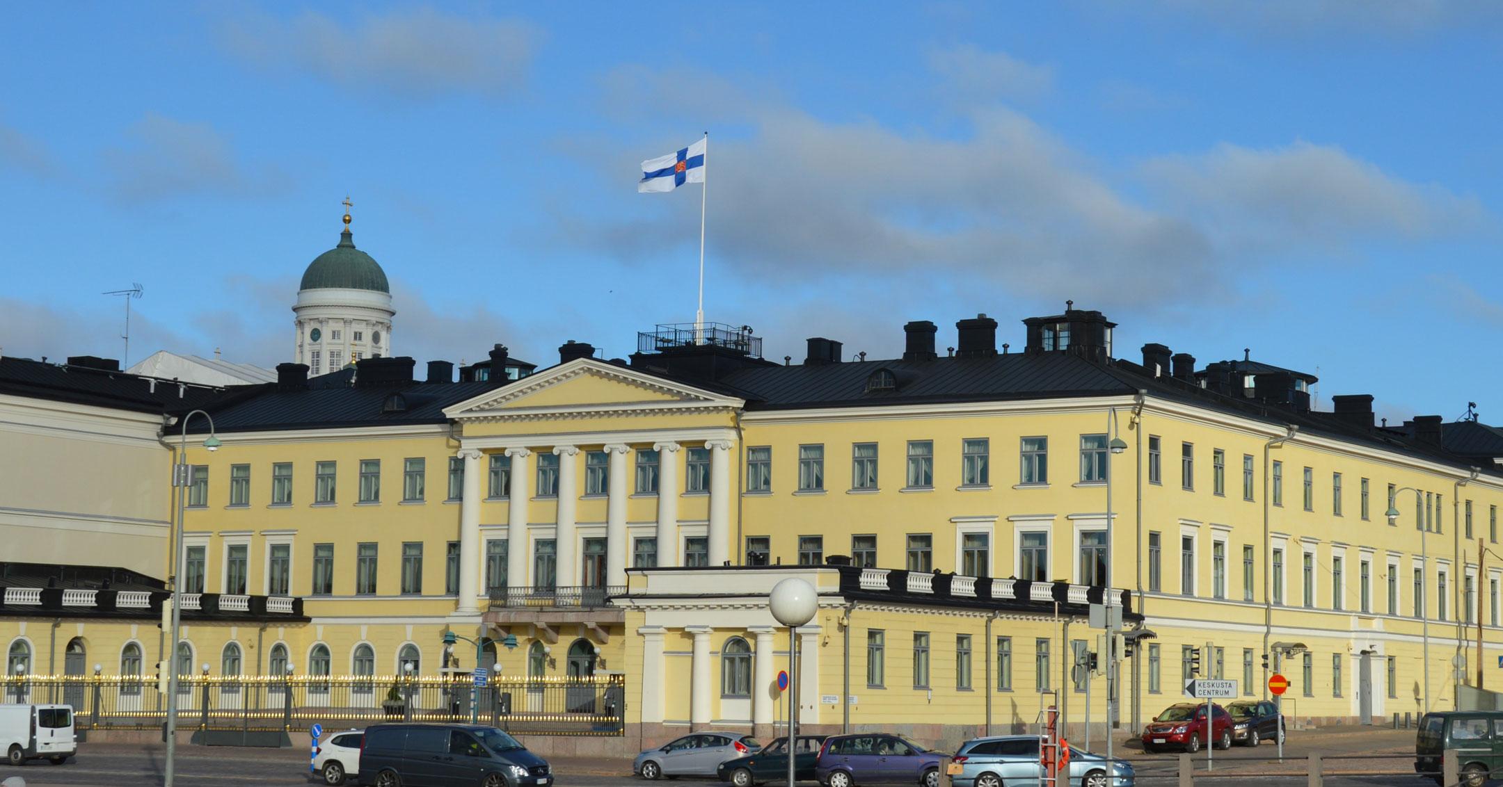 Luftfracht Hubschrauber Finnland