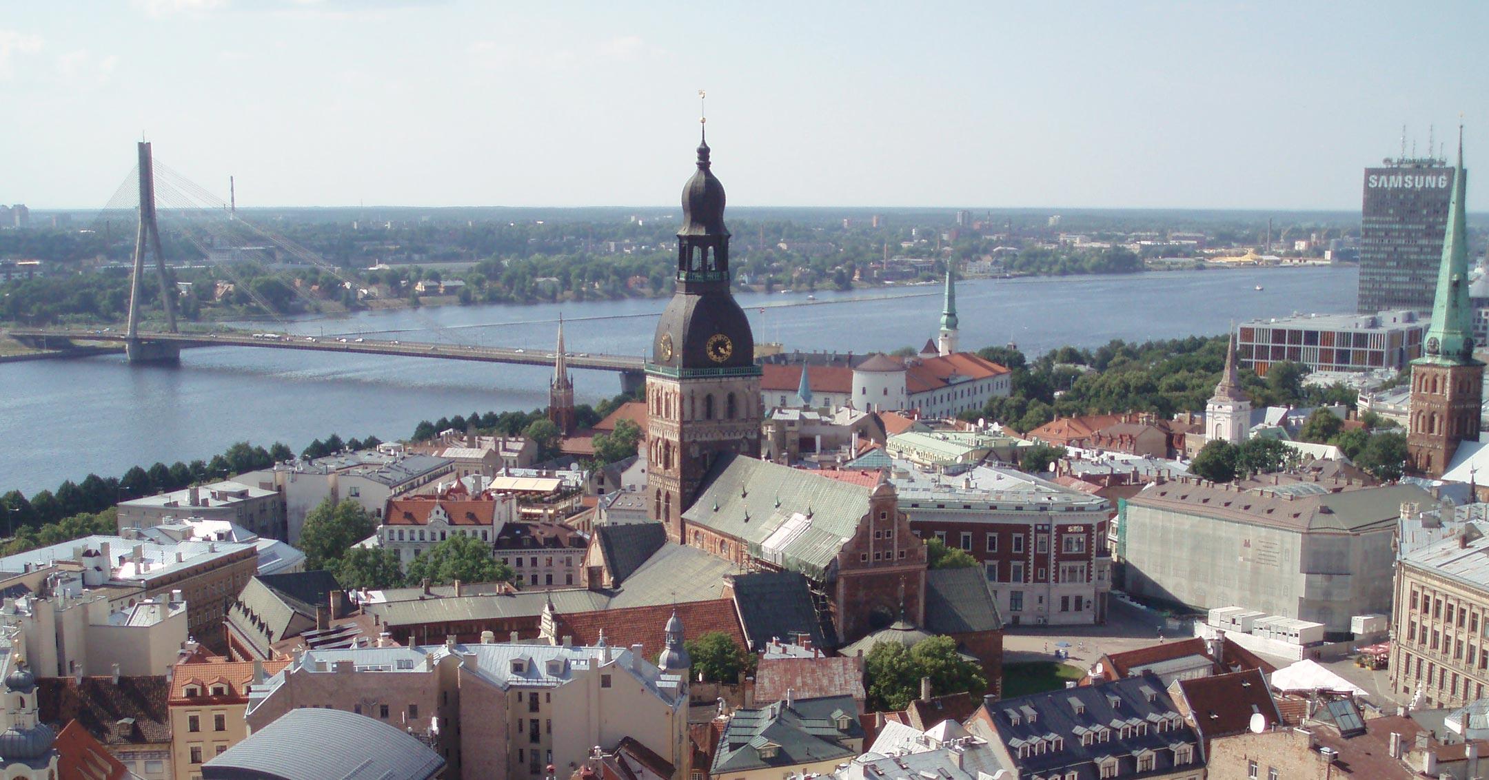 Luftfracht Hubschrauber Lettland