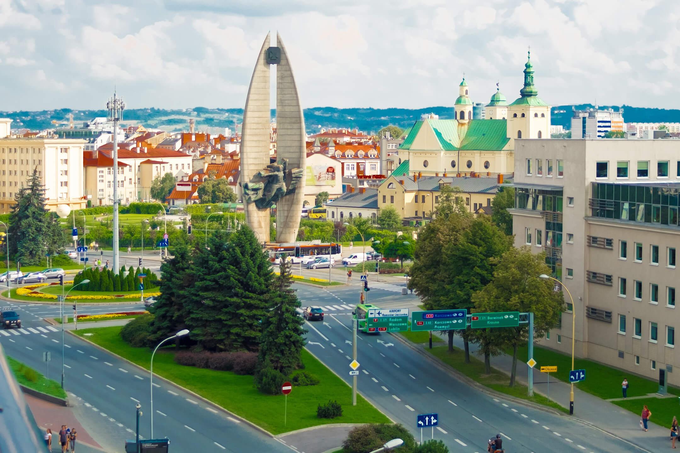 Luftfracht Hubschrauber Rzeszów