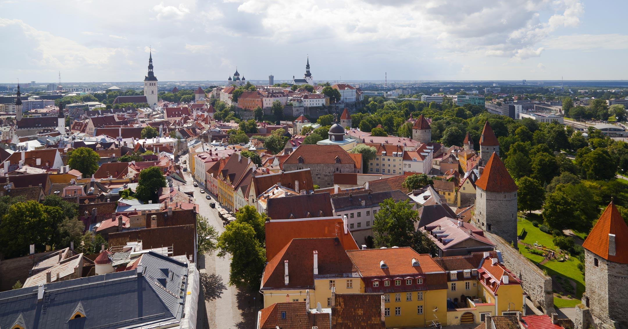 Lastenflug Hubschrauber Tallinn
