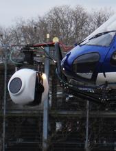 Filmaufnahmen im Helikopter - Stab-C Compact