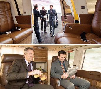VIP Komfort Helikopter