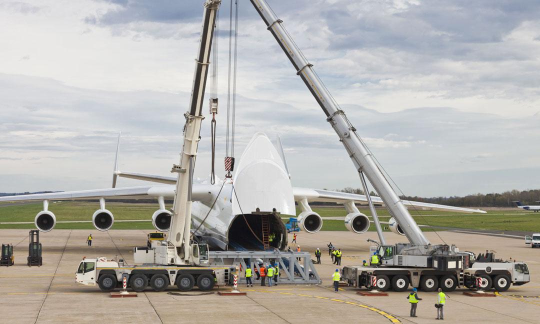 ładunków ponadgabarytowych oraz ciężkich