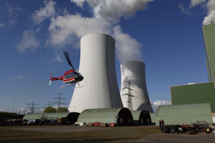 Umweltminister zum Kraftwerk