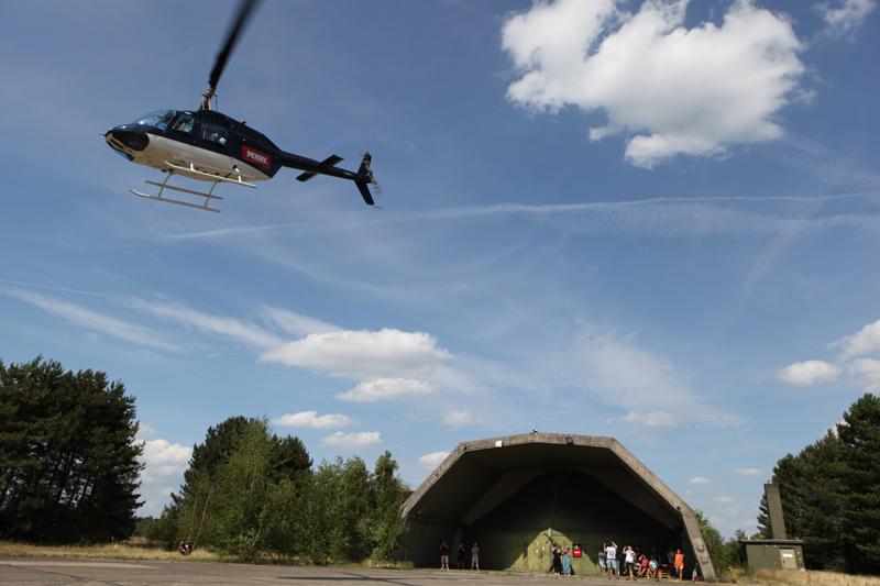 Helikopter-Rundflüge Parookaville