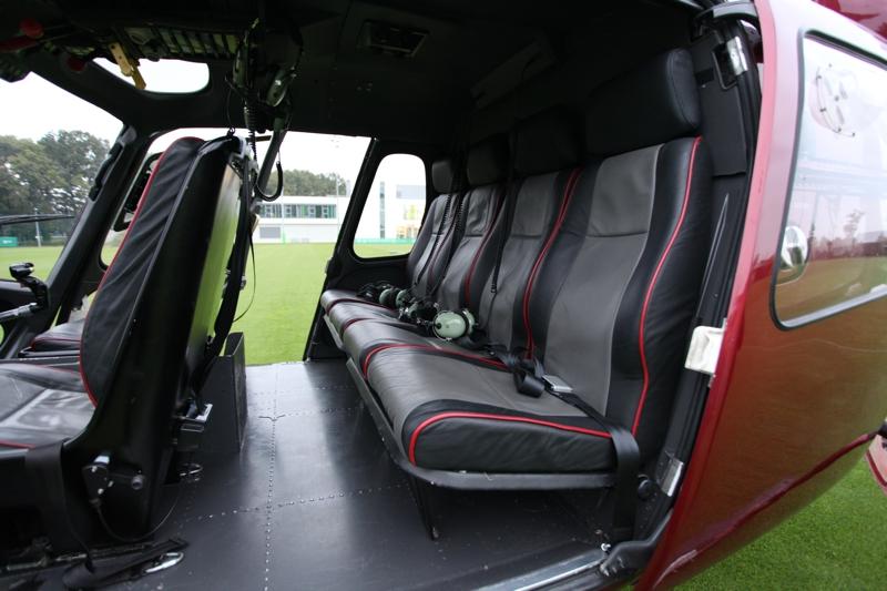 Helikopter für den Personentransport