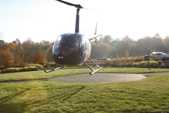 Helikopter als Incentive