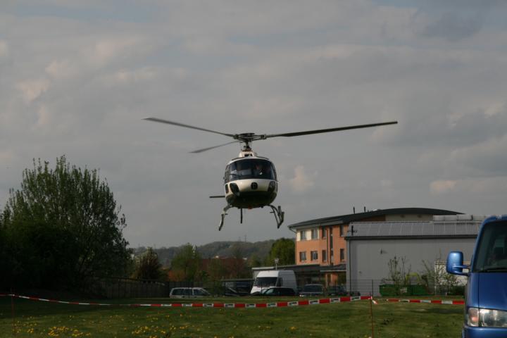 Hubschrauber Presserundflug
