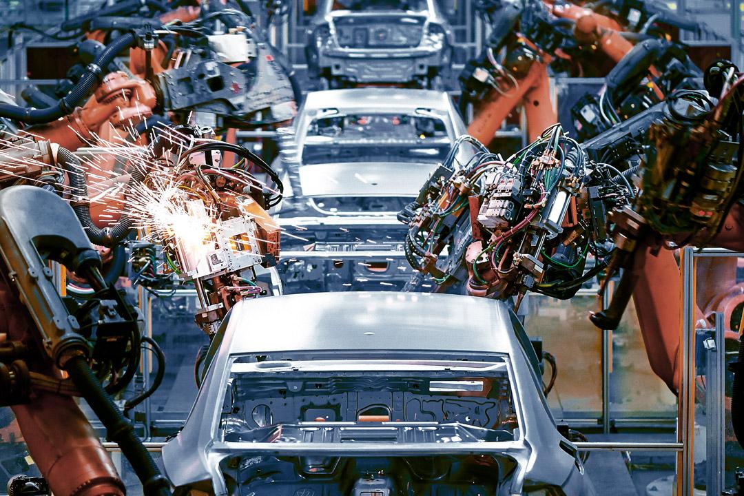 Erneuter Eilfracht Charter für die Automobilindustrie