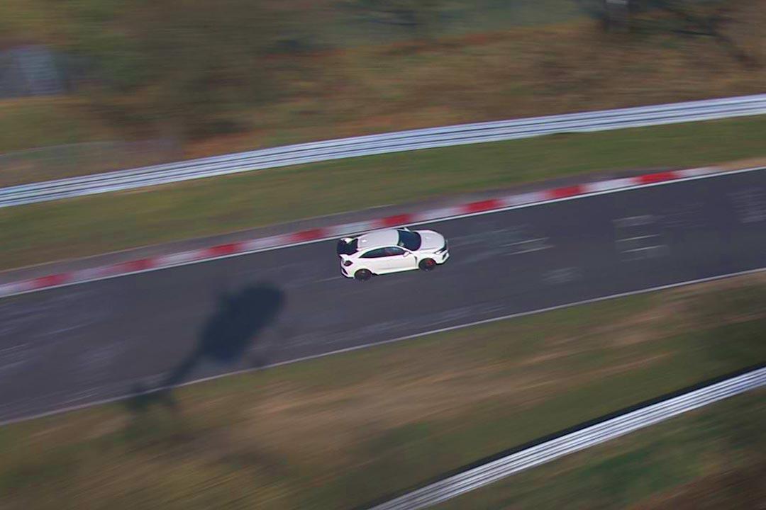 Helikopter-Filmflug für Honda am Nürburgring