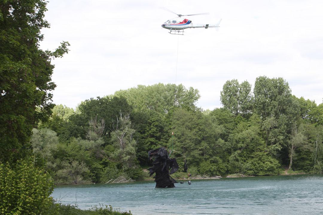 Lastenflug Godzilla