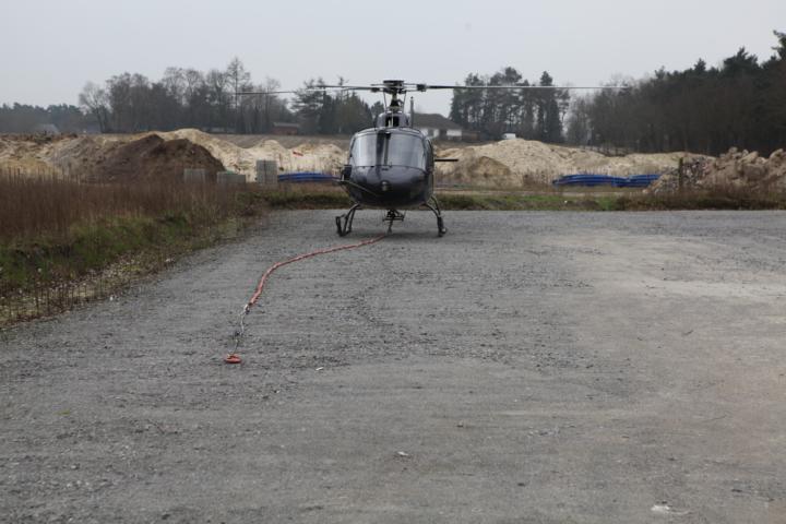 Montageflug in Lohne