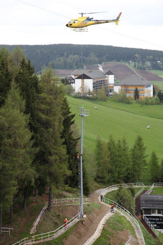 Lastenflug Oberwiesenthal