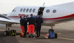 ambulance plane