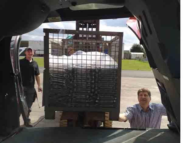 Helikopter Gitterbox