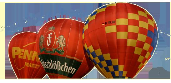 Ballon Formen und Material