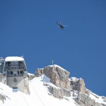 Cineflex an der Zugspitze