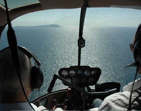 helikopter personentransfer