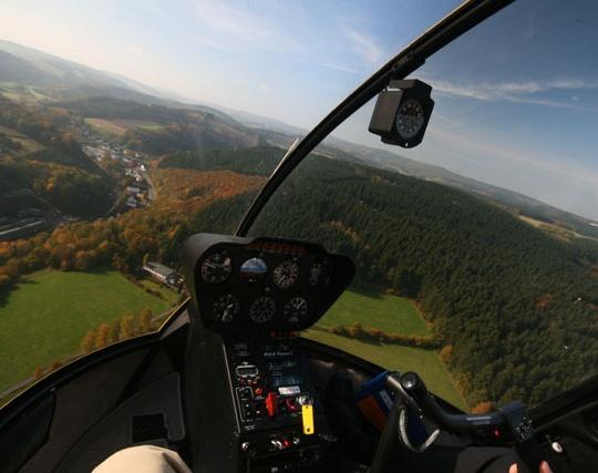 helikopter shuttleflug