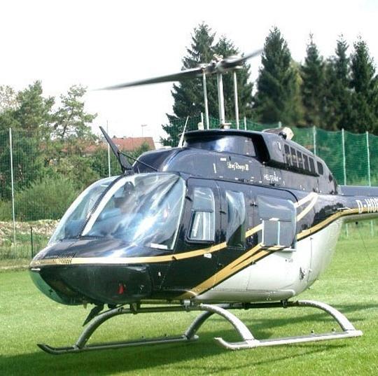 helikopter shuttleservice