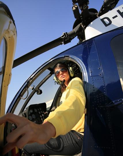hubschrauber shuttleflug