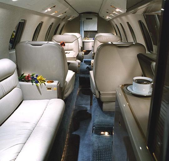 interior eines flugzeugs