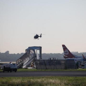 Cineflex-Einsatz am Flughafen Düsseldorf